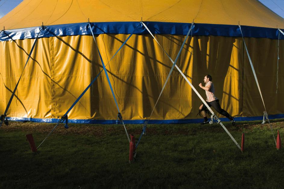 Galapiat Cirque tijdens Festival Circolo.